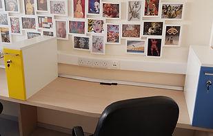 hot desk area