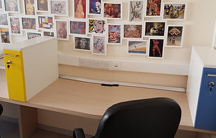 hot desk area