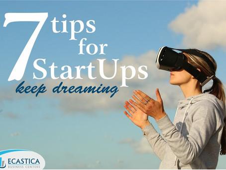 7 συμβουλές για start ups