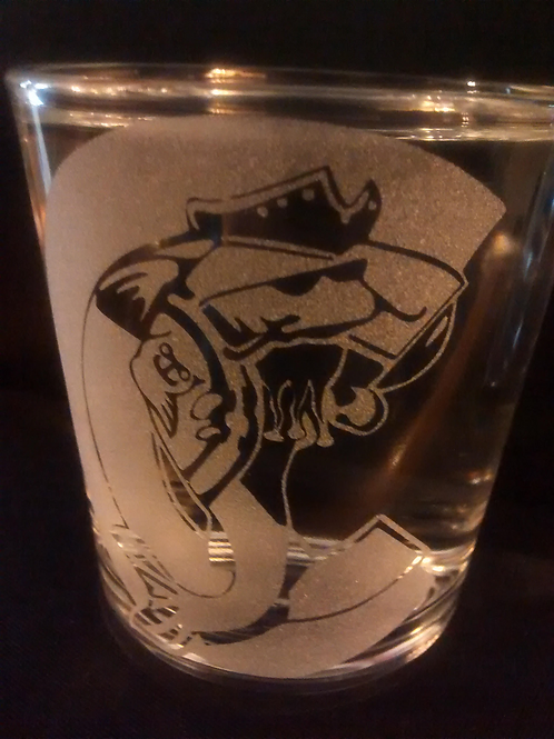Blackbeard's Ghost Revenge Rocks Glass