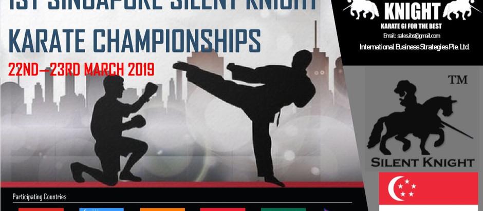 1ST SINGAPORE SILENT KNIGHT KARATE CHAMPIONSHIPS