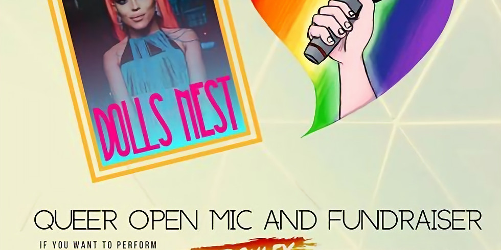 Queer Open Mic & Fundraiser - Keighley Pride