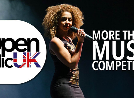 Ruth is competing in Open Mic UK!