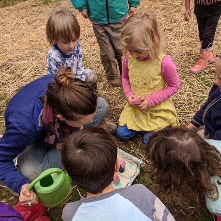 March 2020: Nature Notes - Littlest Learners Emergent Curriculum