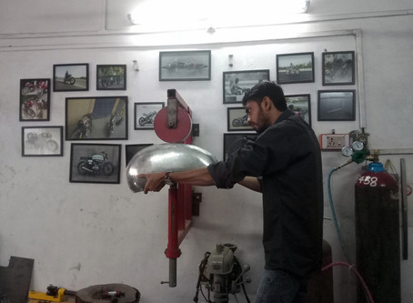 Story of learning Aluminium Gas welding & Building Aluminium Tanks