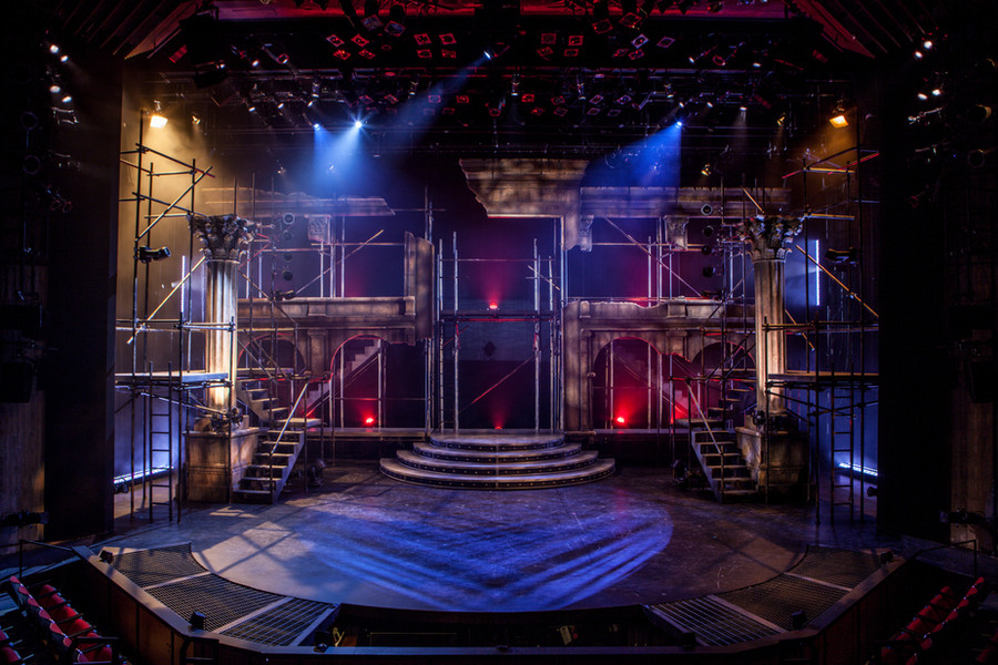 Worked as a carpenter and welder for a production of 'Jesus Christ Superstar' in a 330 seat house thrust stage.