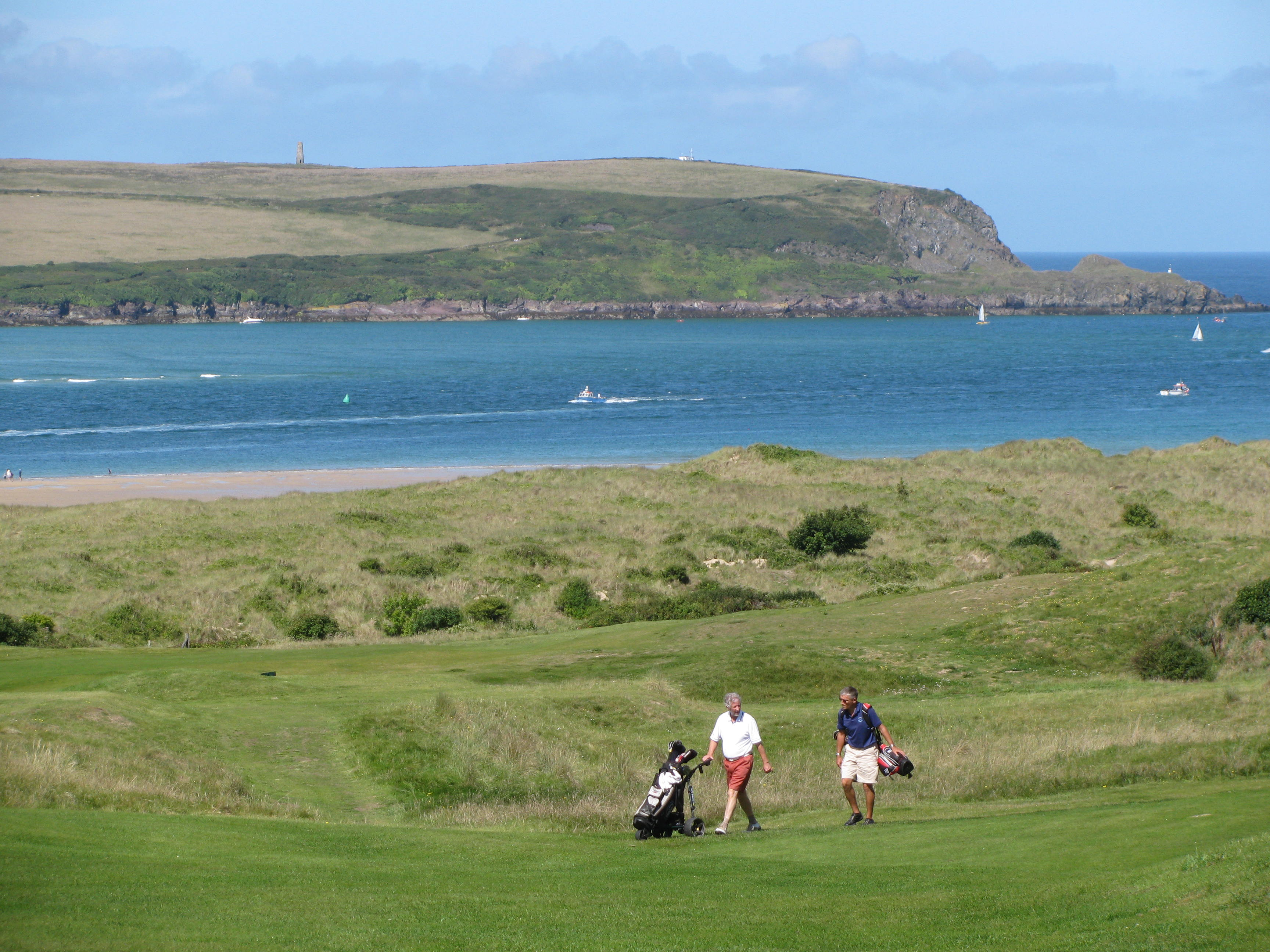 Golf - our favourite hobby!