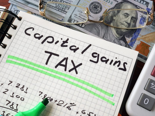 Capital Gains Tax - Will I Get Pushed into a Higher Tax Bracket?