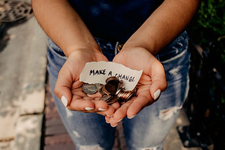 """Note with """"Make a Change"""" written. Online therapy in missouri and therapy in Kirkwood, MO are an investment in YOU. Does insurance cover therapy and other questions answered here!"""