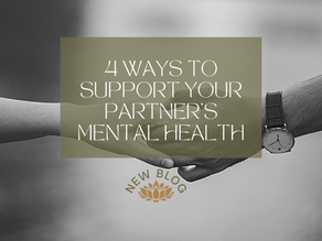 4 Ways to Support Your Partner's Mental Health