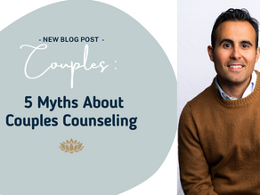 5 Myths About Couples Counseling