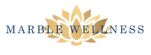 Marble Wellness Logo Counseling for Anxiety & Stress, Depression, and Maternal Mental Health