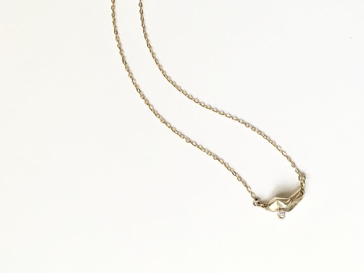 Zincite Star Necklace