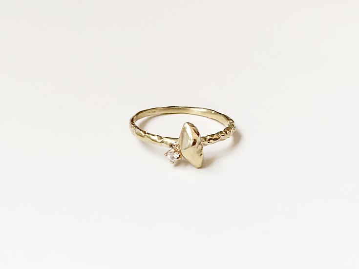 Zincite Star Ring