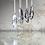Thumbnail: Quartz Mirror Necklace No 4 - Silver