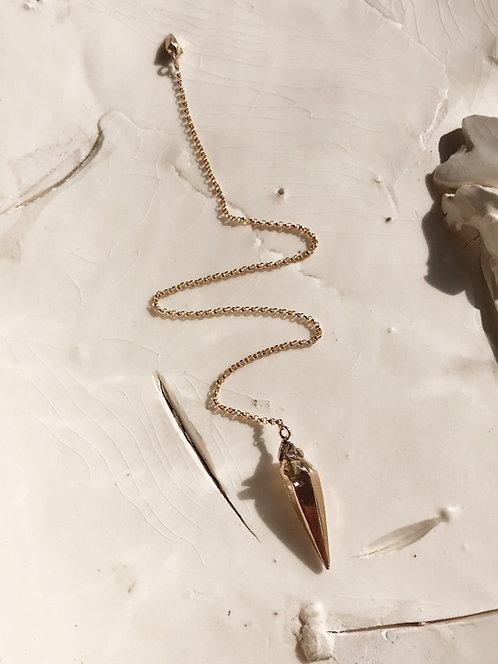 Zincite Pendulum (Bronze)