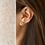 Thumbnail: Porous Earth Rose Quartz Earrings
