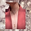 Thumbnail: Zincite Lariat Drop Pendulum Necklace 14k Gold