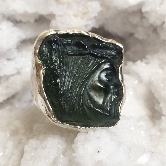 Moldavite by Courtney Bensik Jewelry