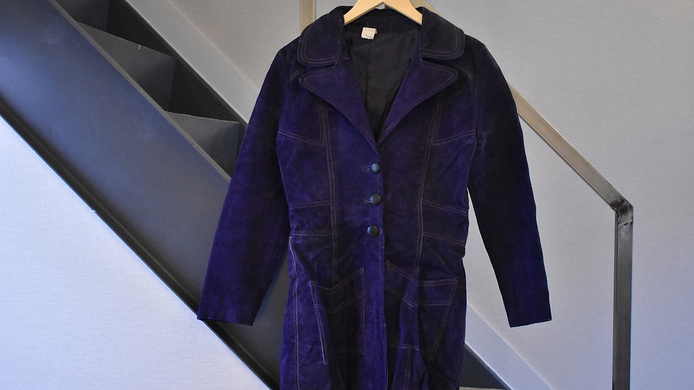 Vintage 60's leather coat
