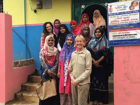 Our Volunteer Nurse Midwife Kim McQuoid Returns to Bangladesh!