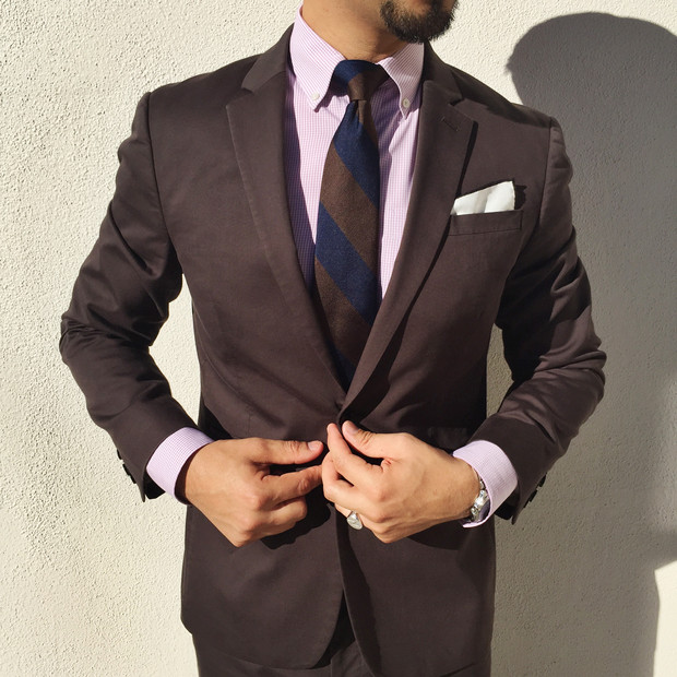 How to Pull Off a Brown Suit | The Social Cut Grooming Cafe