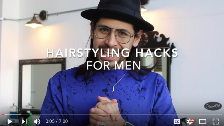 Hairstyling Hacks for Men