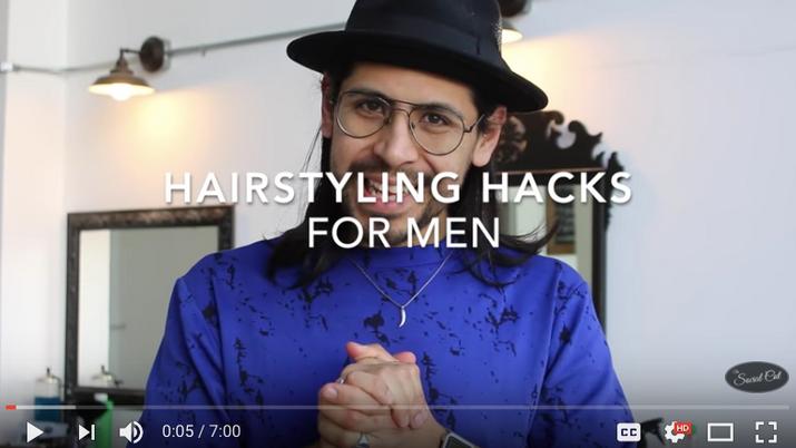 Hairstyling Hacks for Men
