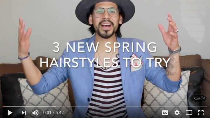 3 New Spring Hairstyles to Try