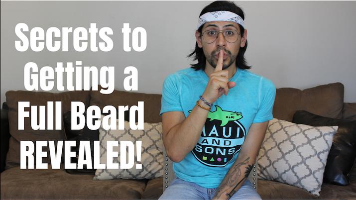 Secrets to Getting a Full Beard REVEALED!