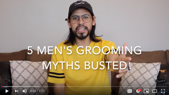5 Men's Grooming Myths Busted