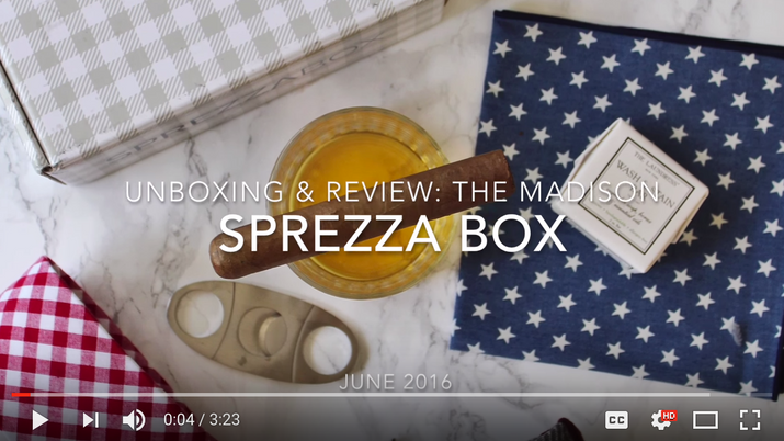 SprezzaBox Unboxing & Review June 2016