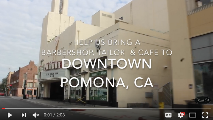 Help Bring A One-Of-A-Kind Man Grooming Haven to Pomona!