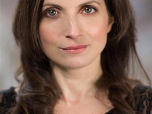Elena Mazzon playing in her acclaimed one woman show 'Clara' , touring various UK and Intern