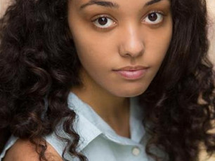 Jazmine Wilkinson working on The Border with Theatre Centre.