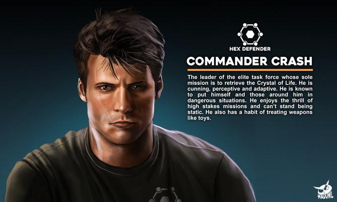 Character art for Hex Defender