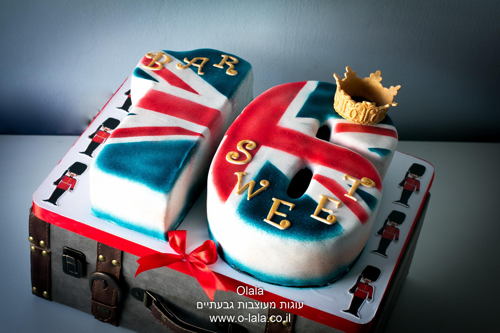 עוגת דגל בריטניה