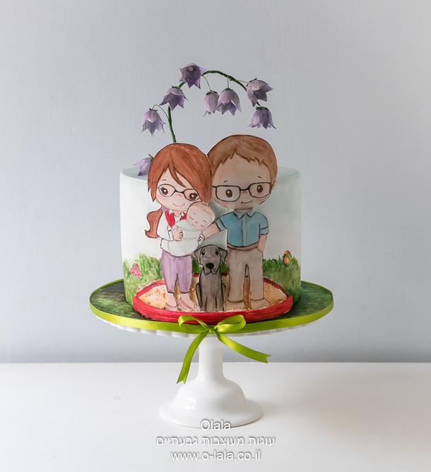 עוגת משפחה