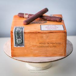 עוגת קופסת סיגרים