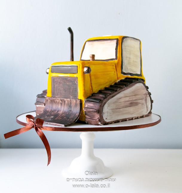 עוגת טרקטור