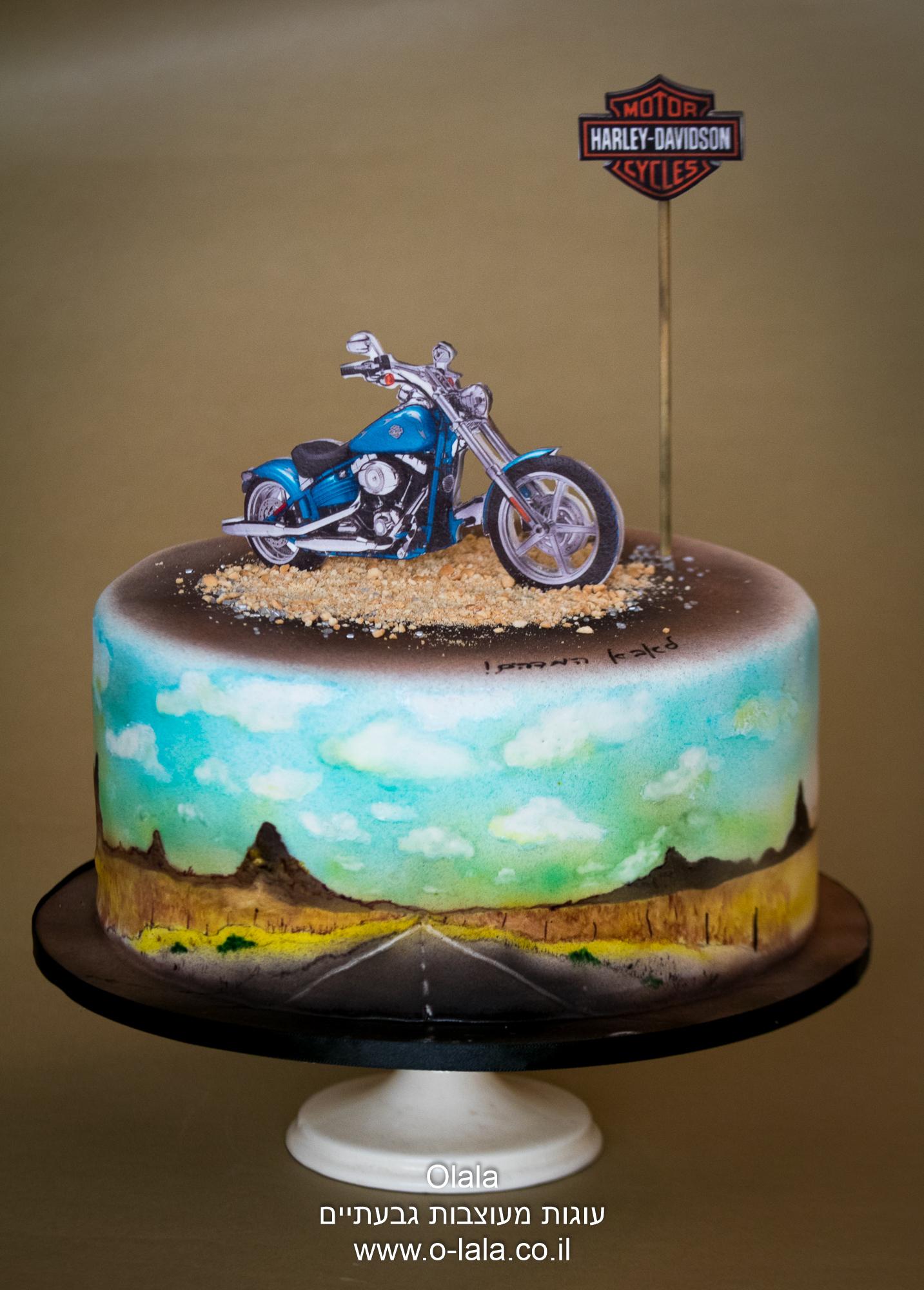 עוגה מצויירת