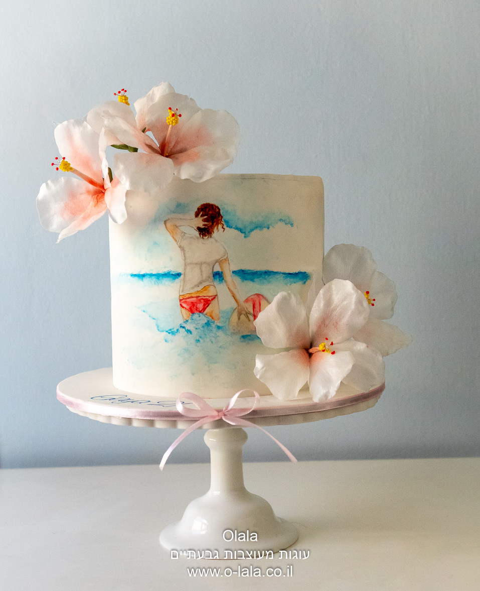 עוגת חוף ים