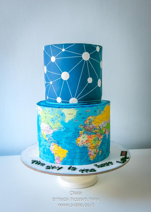 עוגת פרידה לעובד במשרד