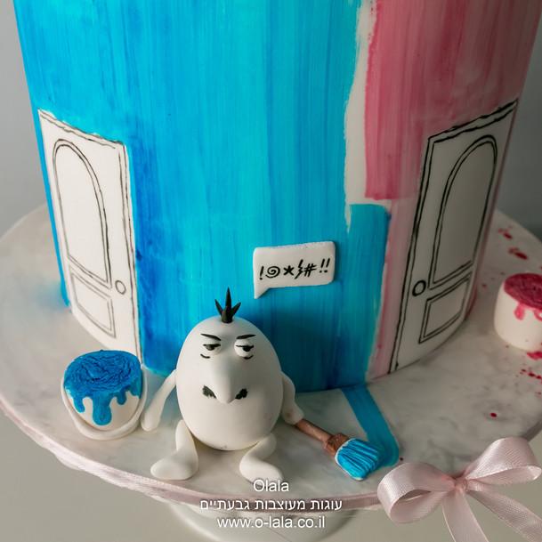 עוגת יום הולדת הפנטר הורוד