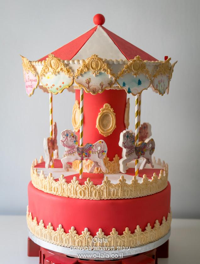 עוגת קרוסלה