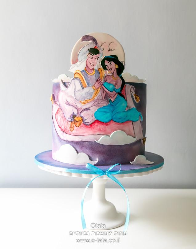 עוגת אלאדין ויסמין