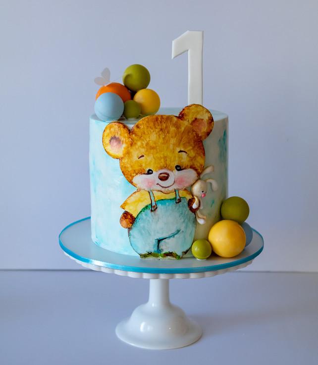 העוגה שהוכנה בסדנה על ידי ליאת צרפתי
