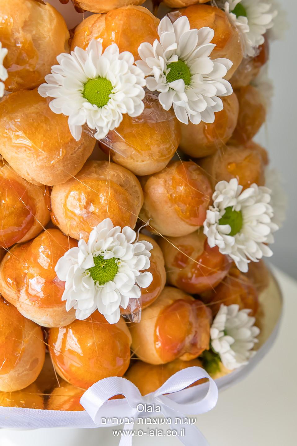 קרוקומבוש מגדל פחזנית croquembouche