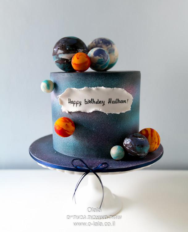 עוגת גלקסיה חלל