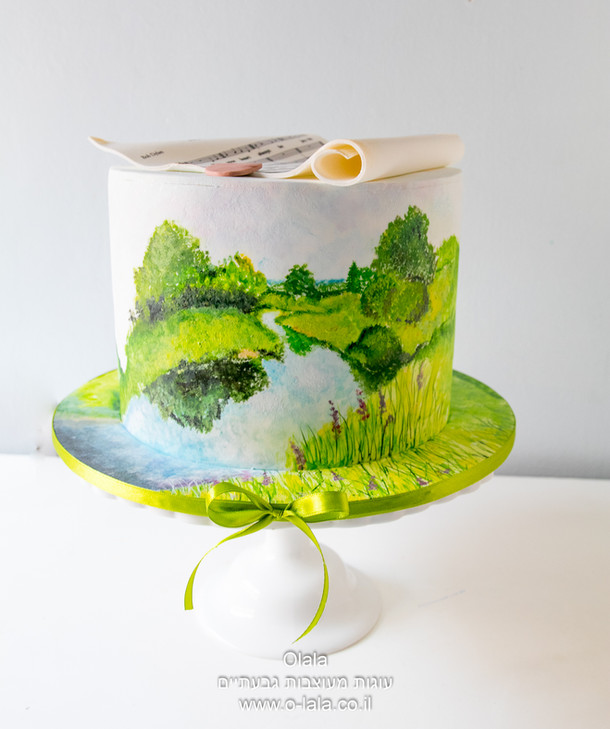 עוגה בחיק הטבע